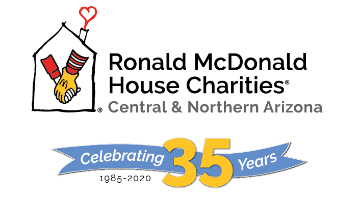 Ronald McDonald House Charities of Central and Northern Arizona - 35th Anniversary logo