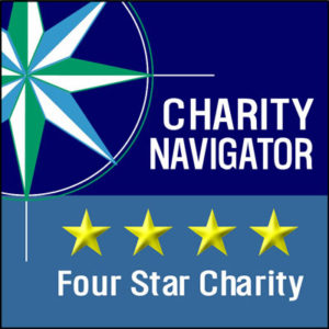 Charity Navigator seal for 4 Star ranking