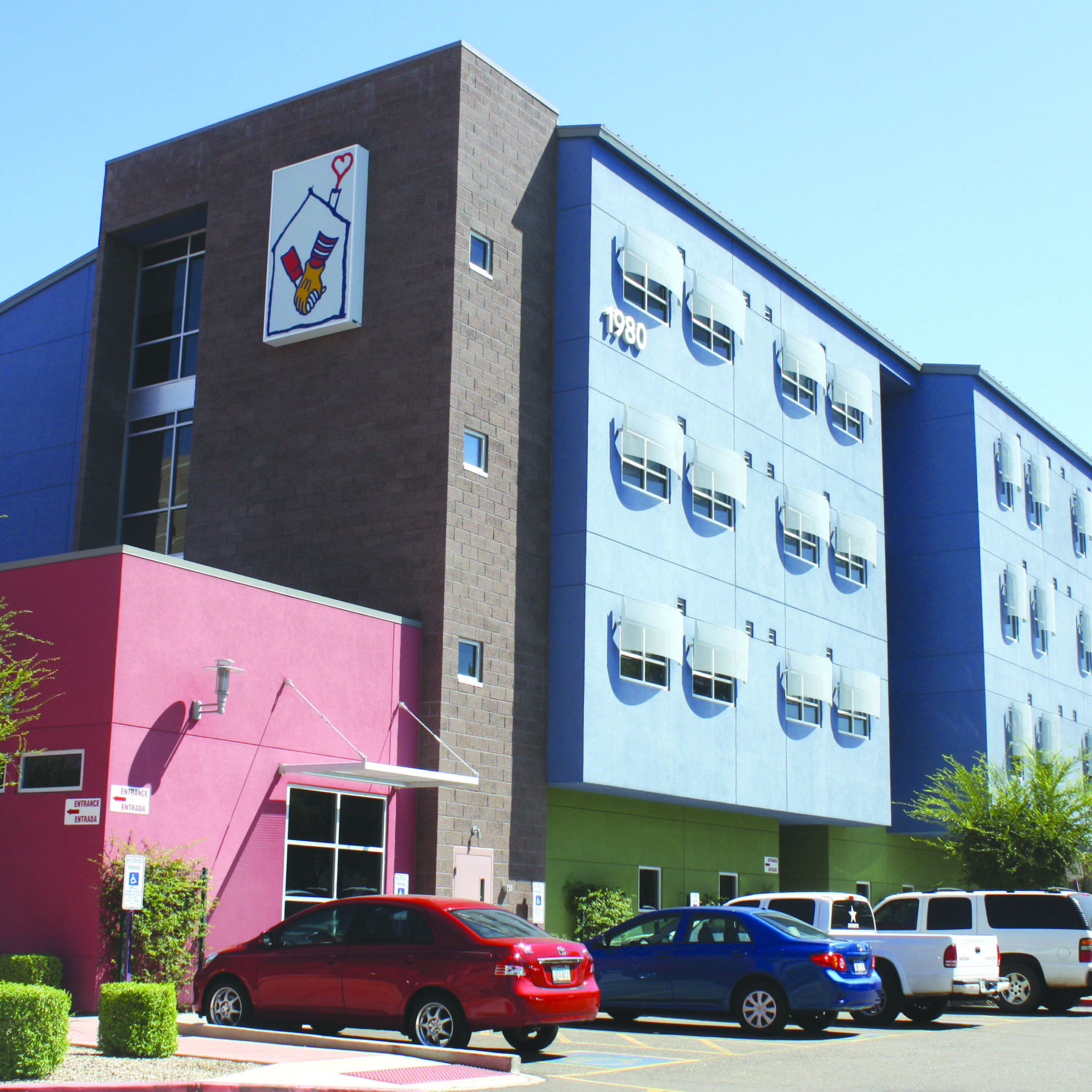 Cambridge House located on the campus of Cardon Children's Medical Center