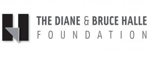 Diane and Bruce Halle Foundation logo