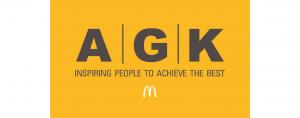 AGK Restaurants logo