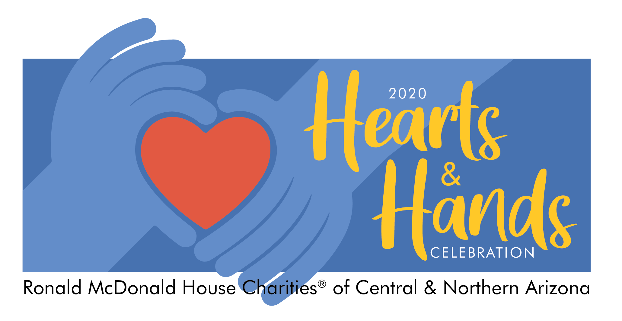Hearts and Hands Celebration logo