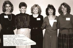 Members of Junior League in 1984