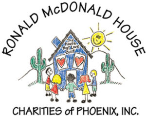 Ronald McDonald House Charities of Phoenix original logo from 1985