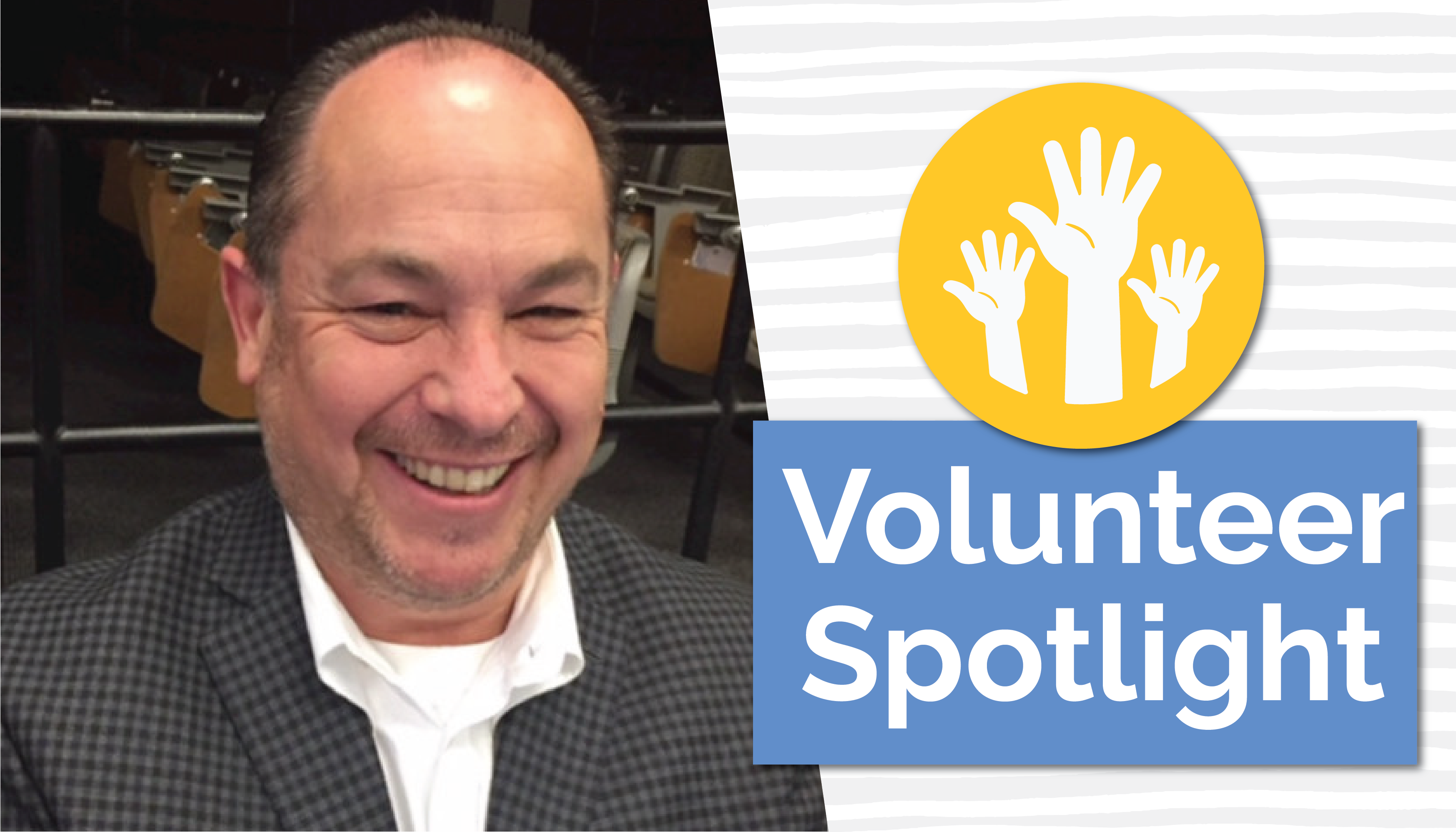 Volunteer Spotlight - Scott graphic