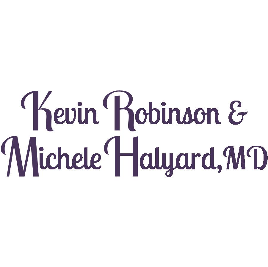 Kevin Robinson & MIchele Halyard, MD logo
